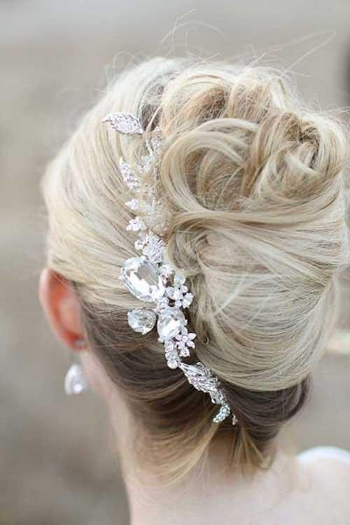 Estilos de cabello de la boda para cabello largo-13