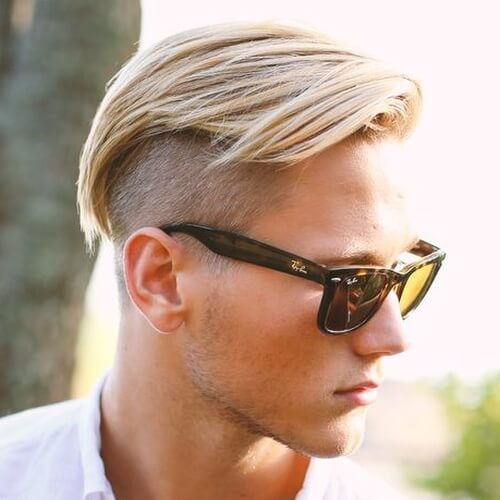 Combover Undercut Hairstyle Men