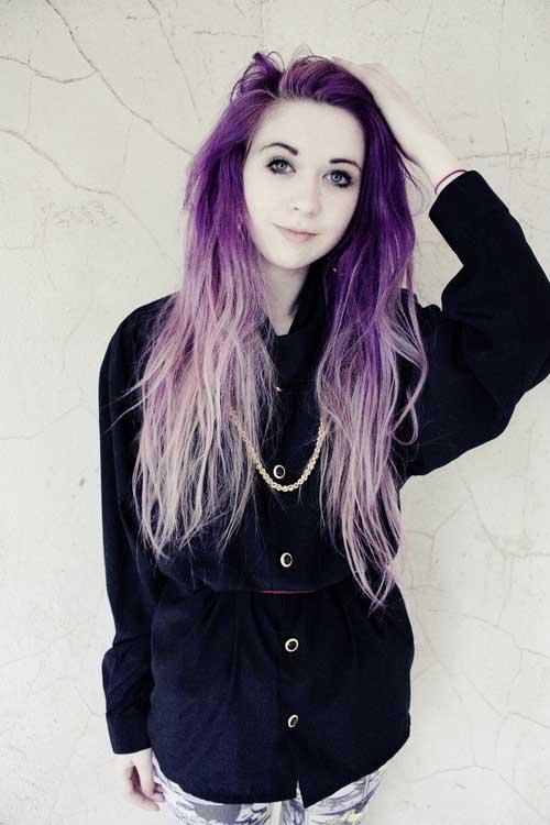 Peinados largos punk-19