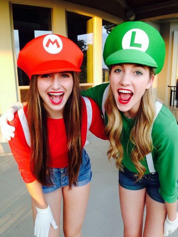 Mario y Luigi ¡Los mejores disfraces de amigos!