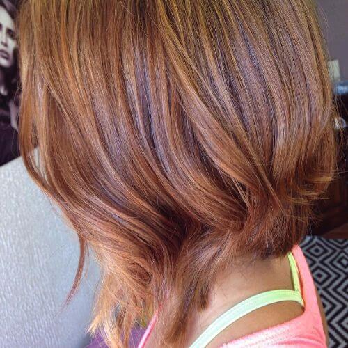 color de cabello caramelo