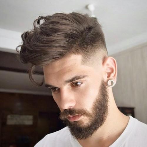 peinados de pomp casual para hombres