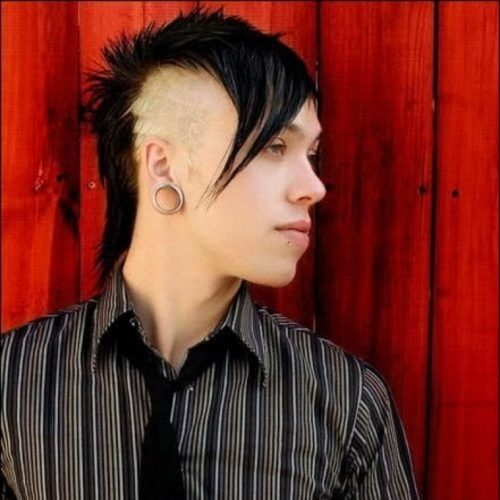 Goth Mullet Hairstyle