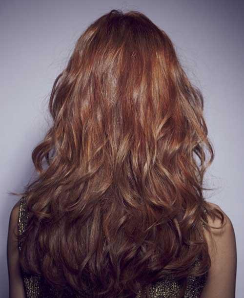 Últimos peinados rizados 2016-18