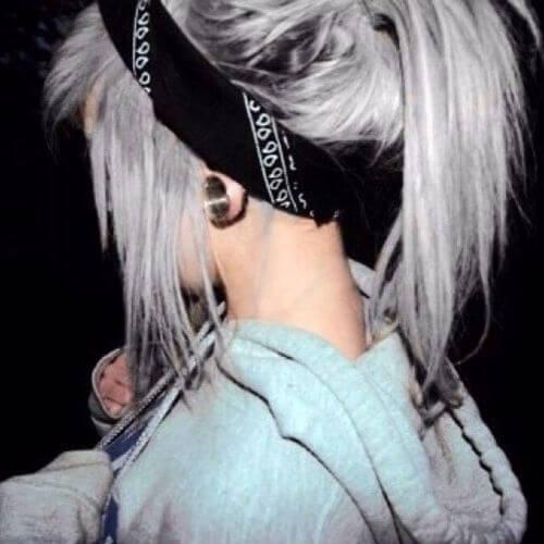 peinado bandana para niñas