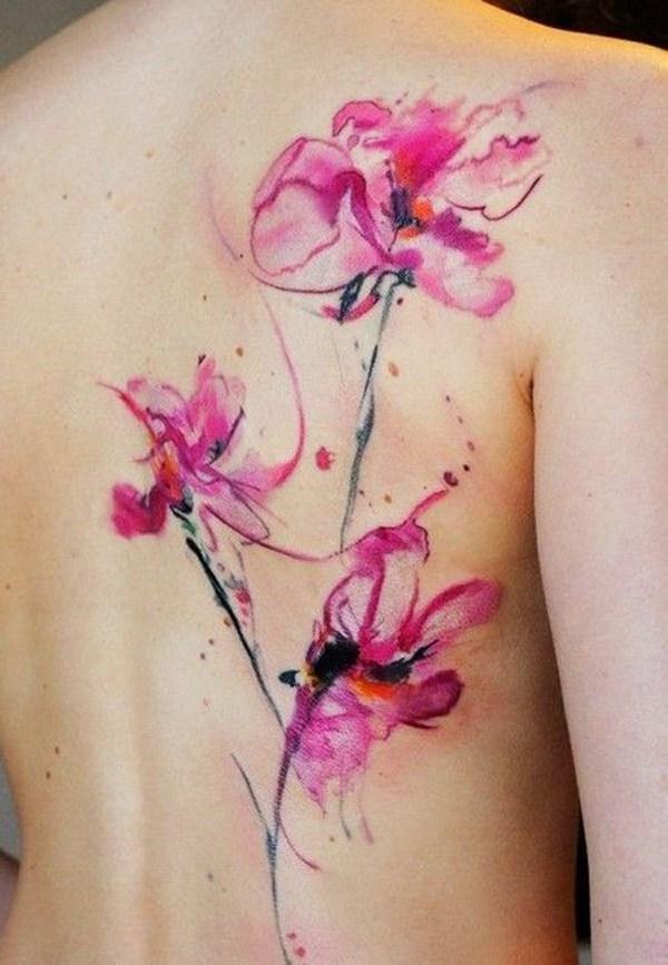 Acuarela tatuaje.