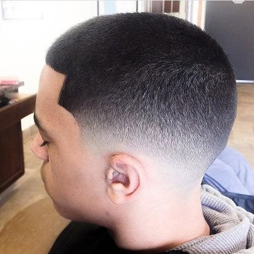 Fade Hairstyles para hombres negros con pelo corto