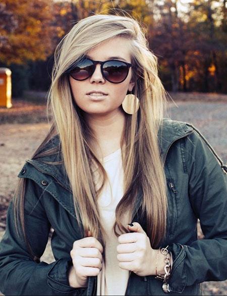Peinados lindos para el cabello largo