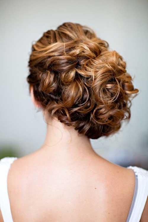 Mejores updos laterales para cabello largo