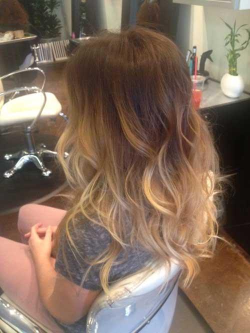 Balayage Dark Brown Blonde Hair Color Ideas