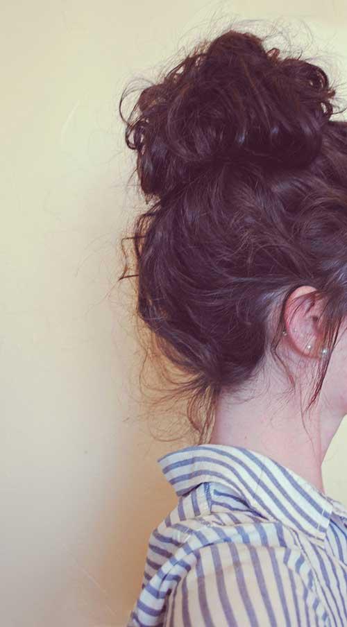 Lindos y largos peinados rizados-13