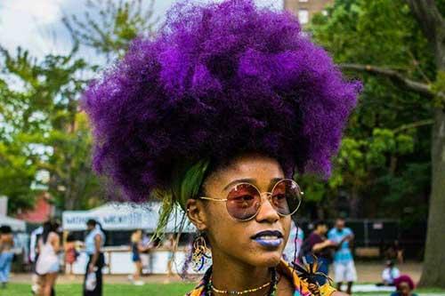 Peinados punk para cabello rizado-6