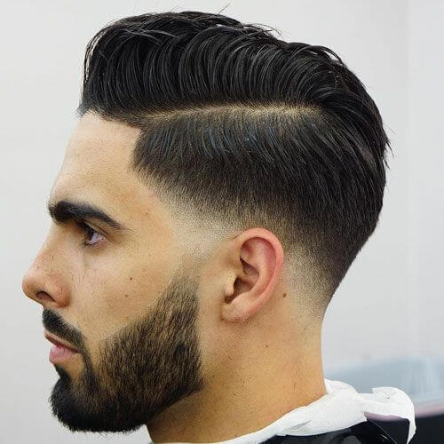 Combover Temp Fade corte de pelo