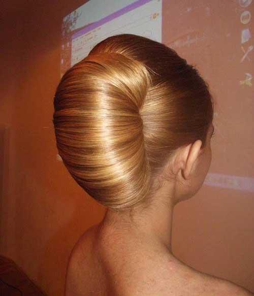 French Bun Hair-9