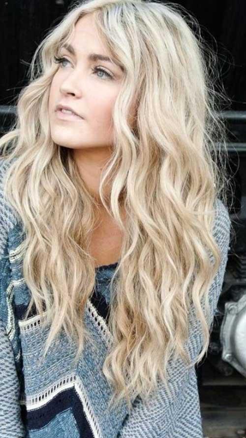 Hermosas mejores cortes en capas para cabello largo