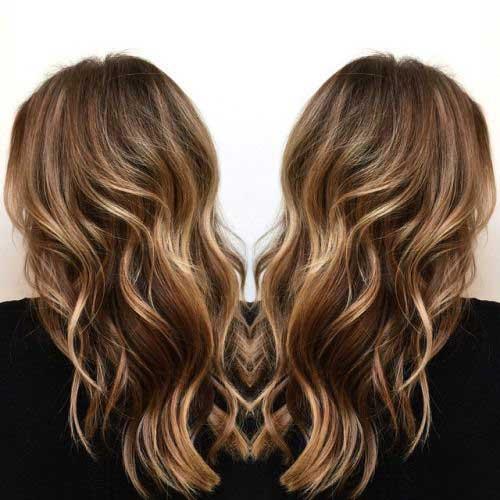 Blonde Balayage en Brown Hair Ideas