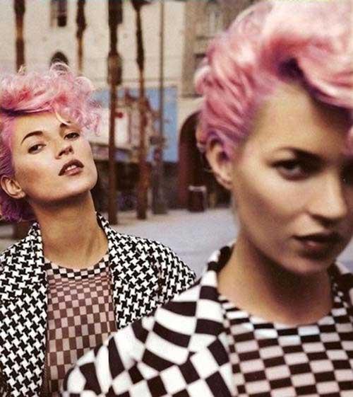 Peinados punk para cabello rizado-21