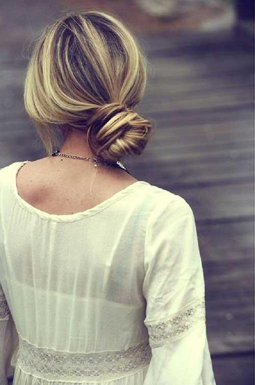 Peinados de boda simples peinados