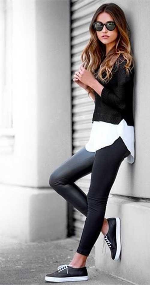 Street Style Capas de pelo largo