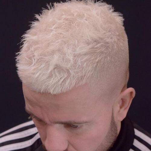 Peinado blanqueado