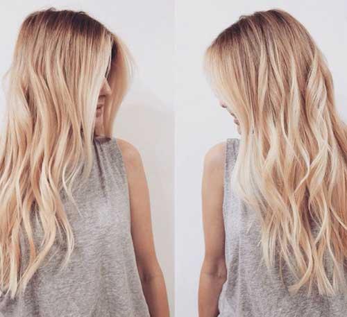 Cortes de pelo largos para caras largas