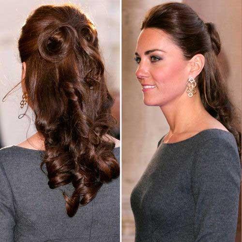 Cabello rizado de Kate Middleton