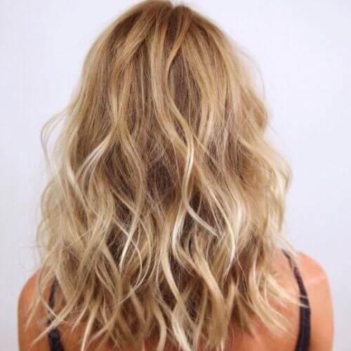 iceberg en honey blonde highlights y lowlights