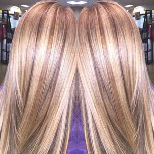 Balayage Hair Blonde Colors
