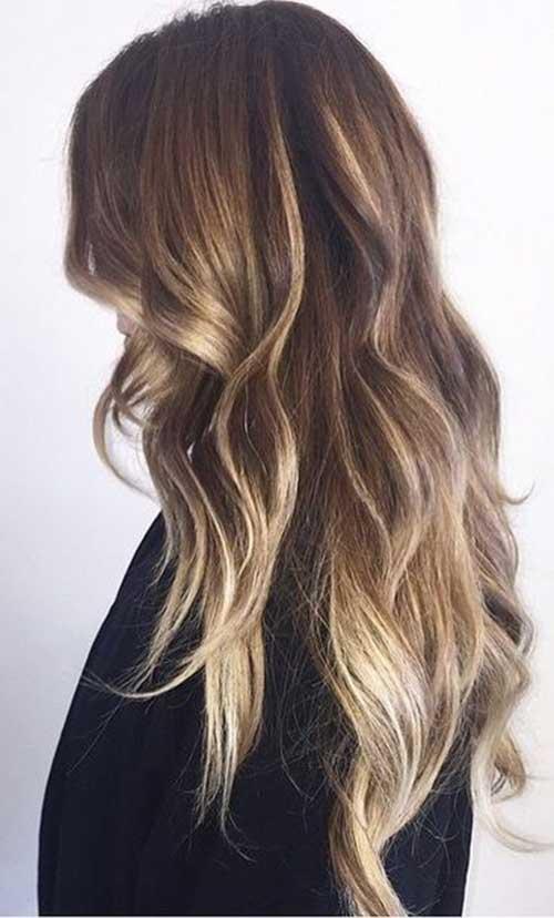 Peinados largos en capas-8