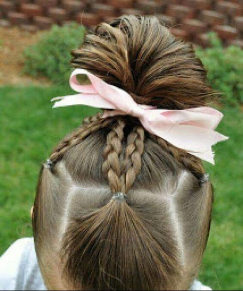 princesa piggies peinados de niña