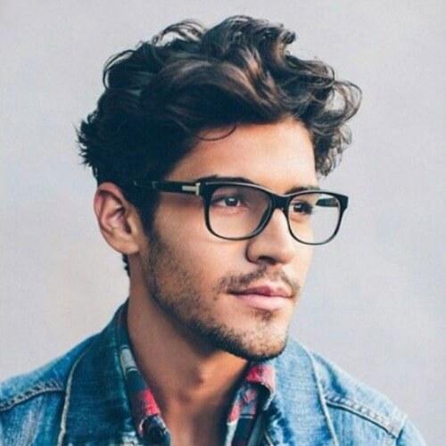 Peinado de hipster