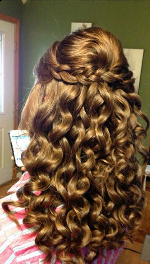 Peinados de fiesta para pelo rizado-16