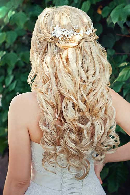 Gorgeous Half Down Hairstyles