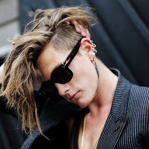 Undercut Punk Hairstyles para chicos