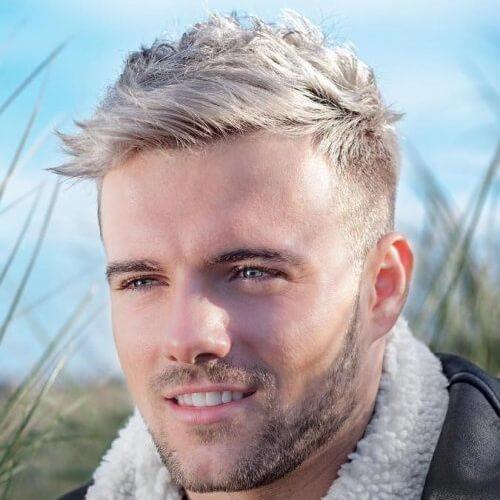 Blonde Quiff Peinados