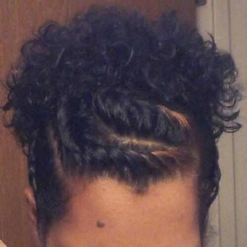 Estilos protectores para el cabello corto natural