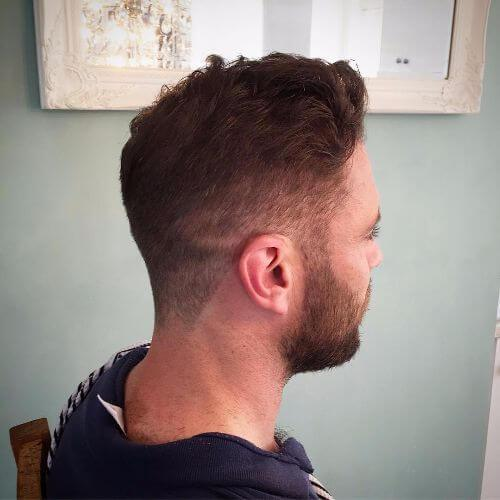adelgazamiento del cabello peinado para hombres