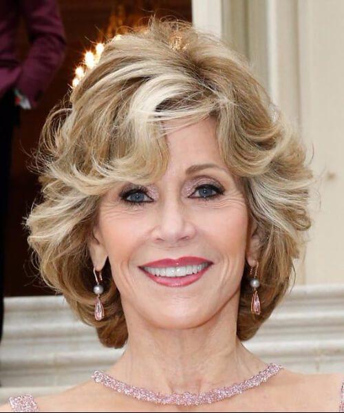 peinados de fonda de jane para mujeres mayores de 50 años