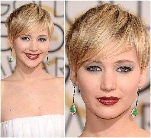 Cabello corto Jennifer Lawrence