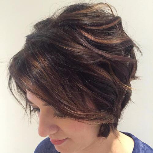 peinados cortos en capas corte de pelo bob