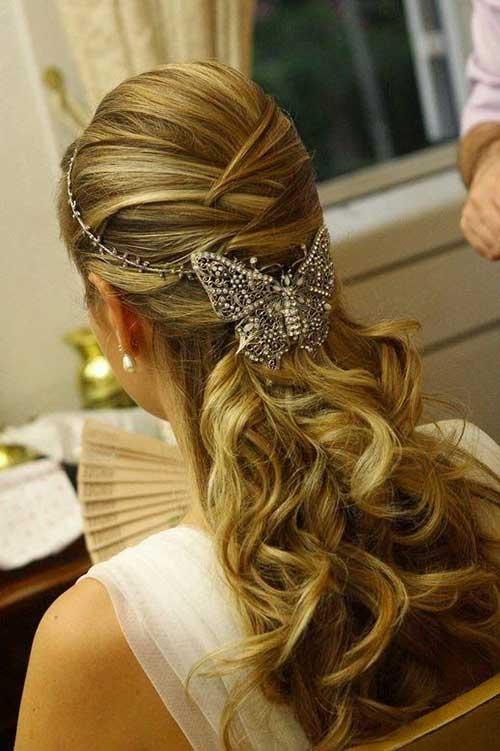 Hermosos accesorios de boda para el cabello