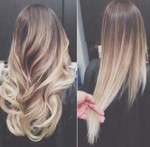 Ombre Color Hair