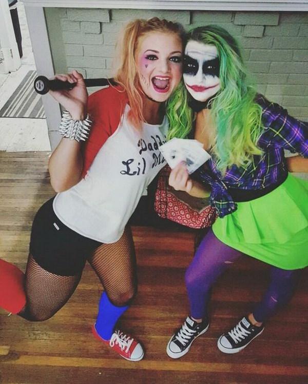 Harley Quinn y The Joker Costumes.