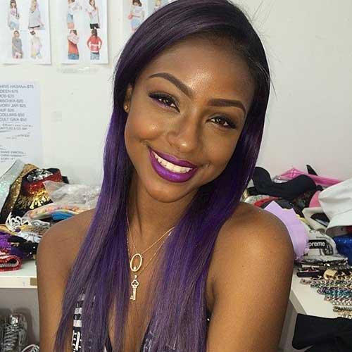 Peinados largos para niñas negras