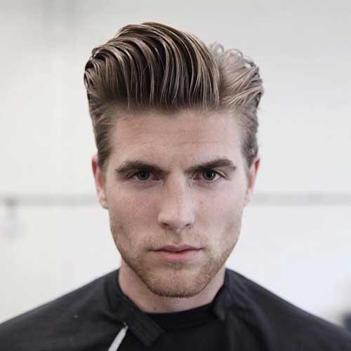la mitad de los peinados a la mitad para los hombres