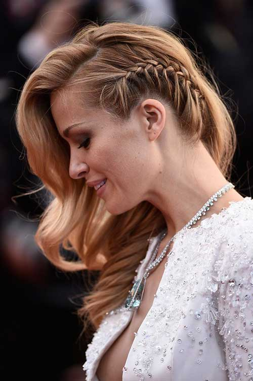 Peinados de trenza de Celebrity Side