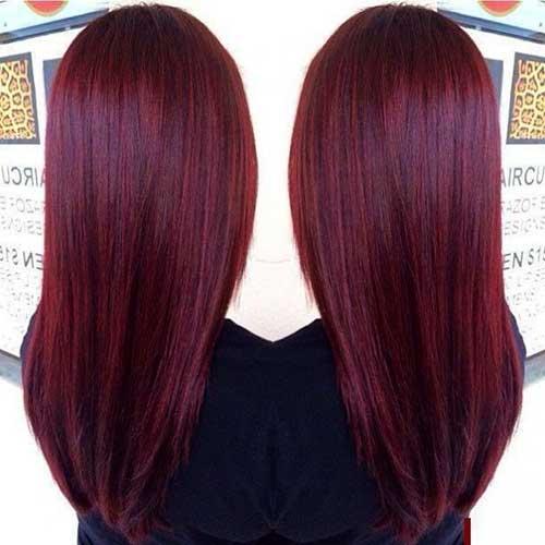 Cabello rojo color-17