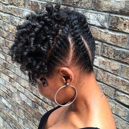 Peinados protectores para el cabello en transición