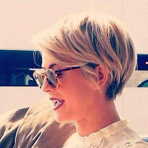 Julianne Hough Pixie Haircuts 2014-2018
