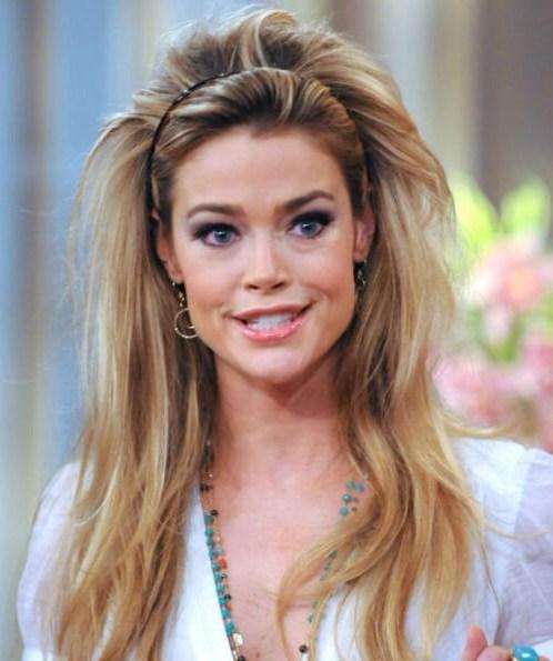 peinados denise richards para mujeres mayores de 40
